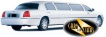 White limousines for hire for weddings in the York area. Wedding limousines York